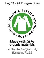 2e8361f3a74c6b The GOTS standard defines requirements for the entire textile production  chain and thus covers production