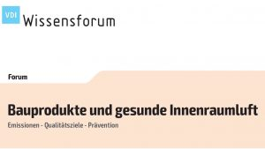VDI-Wissenforum